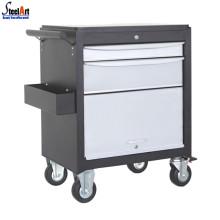 Boîte à outils de chariot mobile en acier inoxydable
