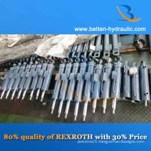 Même qualité avec les vérins hydrauliques Rexroth / Parker