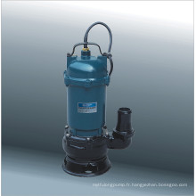 Série de pompes d'eaux usées submersibles (WQ10-11-0.75)