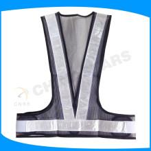 custom black mesh china safety vests reflective