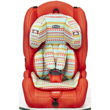 Child car seats with green-red cover