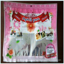 Multicolor Pet Food Plastic Packing Bags
