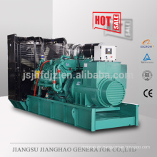 Cheaper electric diesel power generator set with Googol engine 1100kw