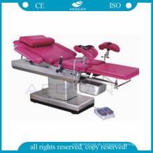 AG-C102A CE ISO chirurgische Geburtshilfe gynäkologischen Stuhl Lieferung Bett Hersteller