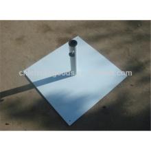 Открытый Восьмиугольный чугунный зонтик базы