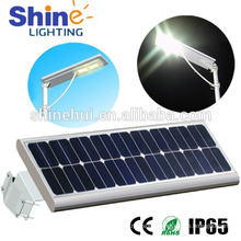 PIR Sensor 20W Integrated LED Solar Street Light 12W 25W 10W 20W 30W 40W 50W 60W 70W 80W