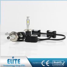 2017 hottest T5 led headlight 4200lm 30w 6000k white h7 auto car led headlight with best beam pattern