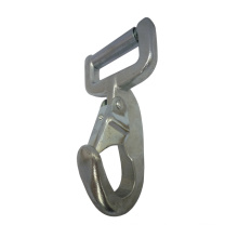 3034 Unique Galvanized Steel Strap Bar webbing Snap Rectangular Eye Hook