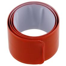 Orange reflective safety armband