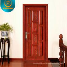 Puerta exterior de estilo clásico
