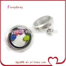 Pendientes magníficos coloridos del Locket de la venta Pendientes magnéticos