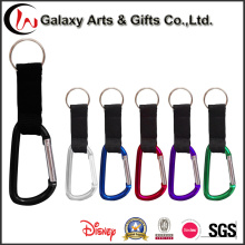 Cheap Gift Climbing Aluminum Carabiner Keychain Travel Key Chain