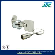 Zinc alloy furniture camlock coupling cam lock groove fitting