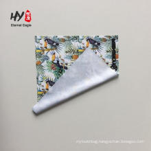 Cheap digital photo printed microfiber camera lens cleaning cloth