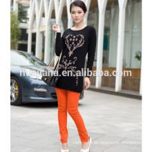Mode-Design Frauen 100% Kaschmir Strickpullover