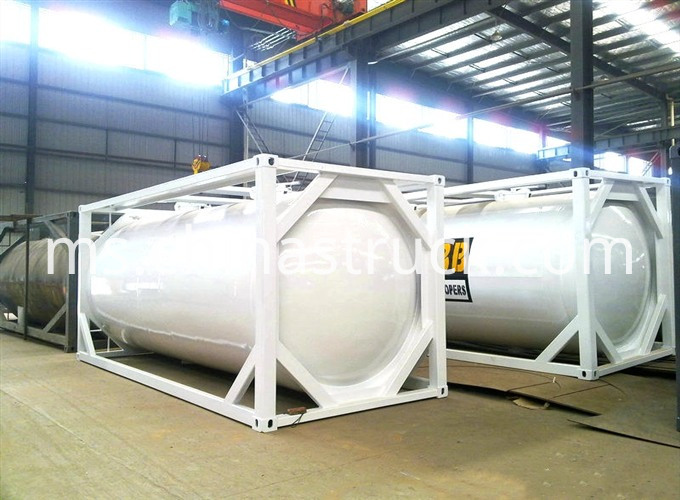 20ft Dry Bulk Cement Coal Tank Container