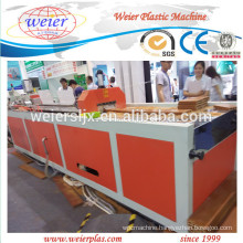 2015 NEW technical of WPC PE PVC profile extruder machine line