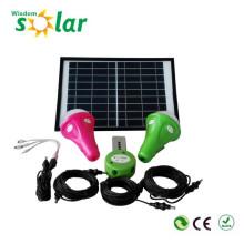 Hohe Qualität CE 300 Lumen tragbare führte solar Beleuchtungssystem; nach Hause solar System Sonnensystem