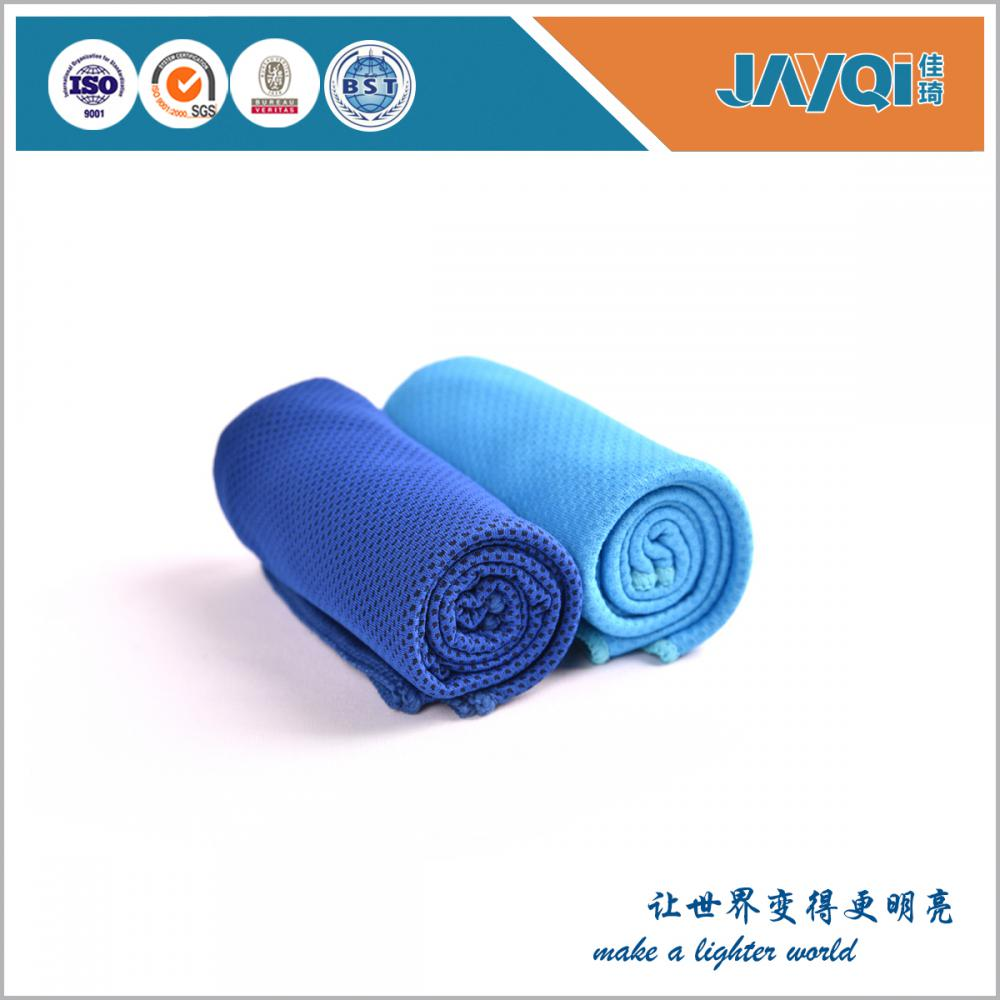 Custom Polyester Cooling Towel Promotional Item