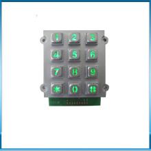 Lock numeric door opener keypad