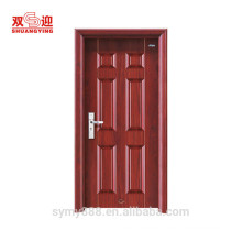 Economical series modern fancy quality steel security door