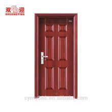 Вход в дом номер глазок горячекатаная гальванизированная стальная дверь