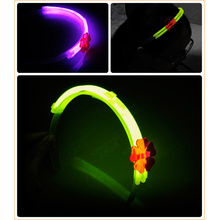 Fashionable 8′′ Glow Hairpin for Kids Ornaments