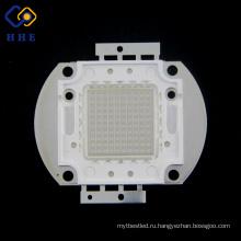 Тав высокая мощность 100W 450 нм голубой свет СИД