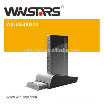 superspeed 5Gbps USB 3.0 Universal Docking Station,support fast charging up to 2.4A