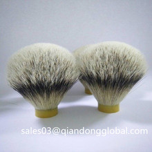 High Quality Silvertip Badger Hair Knot