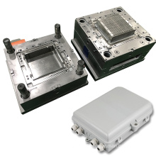 OEM precision plastic electronic housing mould injection mold for fiber optic distribution box