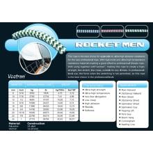Varios tamaños Rocket Men Halyad / Sheet & Control Rope para Racing / Keel Boat / Multihull
