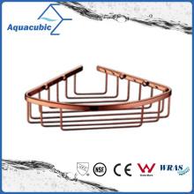 Wall Mount Corner Basket in Gold Rose (AA6518B)
