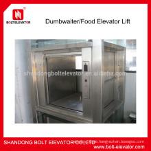 Mini-Aufzug 100-300KG Dumbwaiter Aufzug Kompakt Aufzug