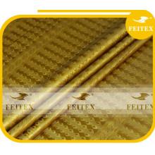 Chine Tissu de tissu de textile de kaftan de coton de brocart de coton d'Alibaba