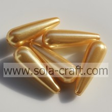 High Quality Acrylic Pearl Bead Waterdrop Shape Beads