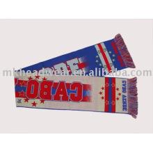Модный футбольный фэн-шарф
