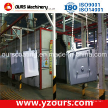 Auto/Manual Paint Spray Cabinet for Metal Industry