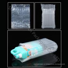 Прозрачный пластиковый мешок с воздушной подушкой для защитного пакета