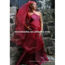 Einfache Design Empire Schwangere Brautkleid