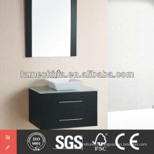 2013 Two Drawers Glass Tap Europe Style Bathroom Vanity