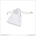 Double-Side Drawstring Rope Super Fine Fiber Jewelry Bag