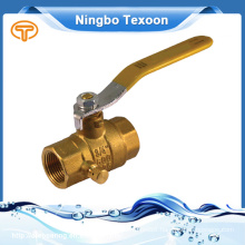 China Supplier Low Price 2 Way Ball Valve Brass
