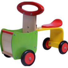 Wooden Walker Tractor/Toy Car/ Kids Wooden Toy