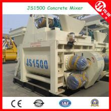 Mezclador de hormigón automático del motor eléctrico (JS1500) para la venta