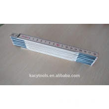 2 metre folding ruler promotional wooden folded ruler