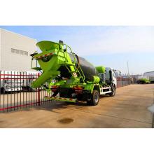 Caminhão misturador de concreto volumétrico de carregamento automático 5m3