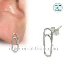 Бумажный зажим нержавеющей стали на штырях уха