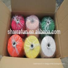 100% bon fil de cachemire pour le prix d'usine de tricotage de machine