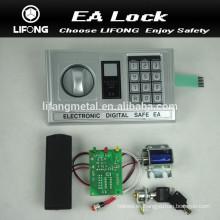 Suministro de cerradura de combinación mecánica y digital para digital caja fuerte modelo EA